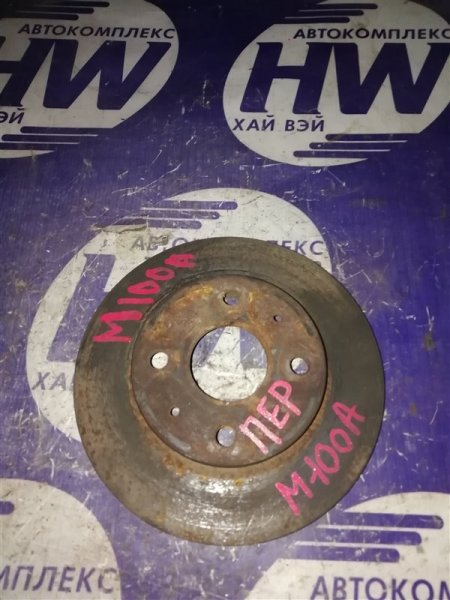 Диск тормозной Toyota Duet M100A EJ передний (б/у)