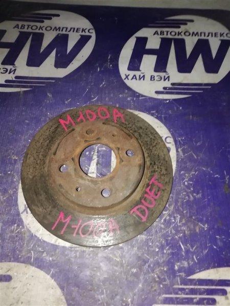 Диск тормозной Toyota Duet M100A передний (б/у)