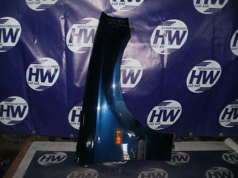Крыло Honda Civic Ferio EK3 D15B 1997 переднее правое (б/у)