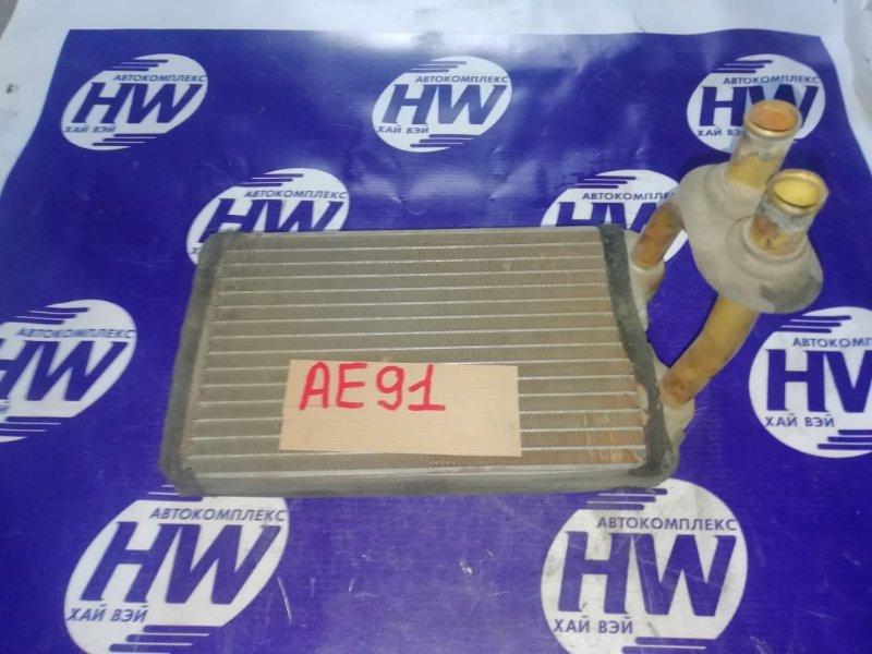 Радиатор печки Toyota Sprinter AE91 5A 1988 (б/у)