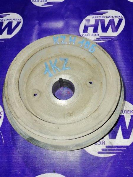Шкив коленвала Toyota Hiace KZH106 1KZ 1998 (б/у)