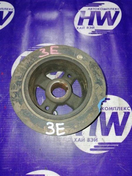 Шкив коленвала Toyota Corona ET176 3E (б/у)