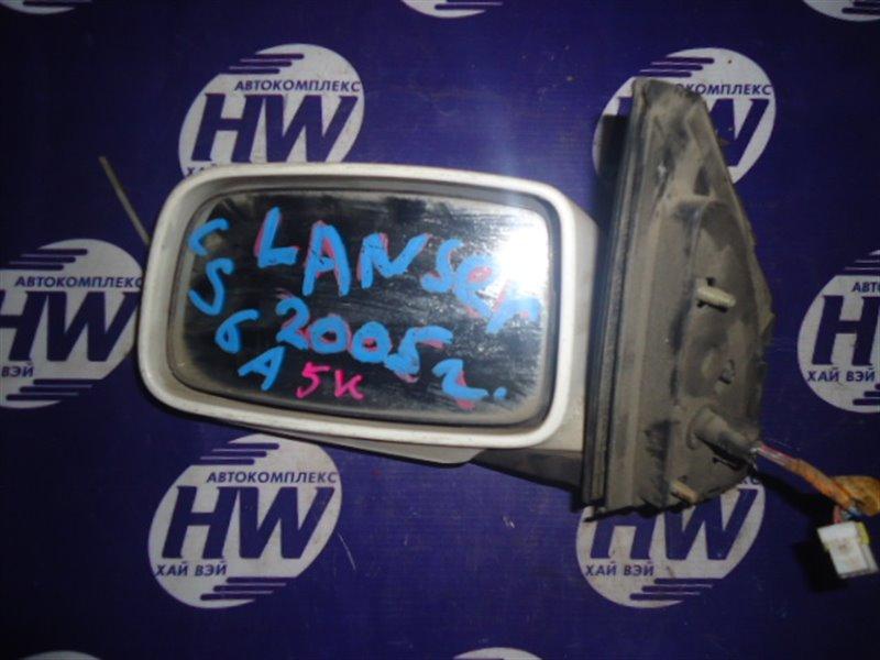 Зеркало Mitsubishi Lancer CS6A левое (б/у)