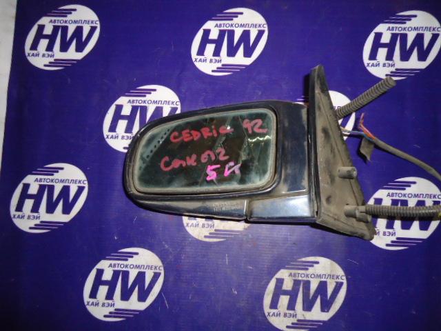 Зеркало Nissan Cedric Y32 левое (б/у)