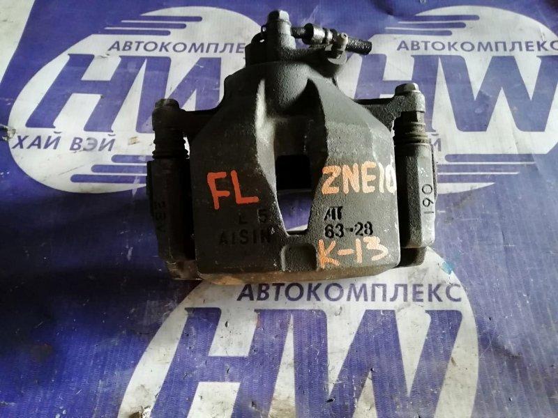 Суппорт Toyota Wish ZNE10 1ZZ 2002 передний левый (б/у)