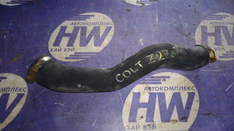 Патрубок интеркулера Mitsubishi Colt Z27A 4G15T (б/у)
