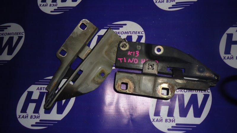 Петля капота Nissan Tino HV10 SR20 (б/у)