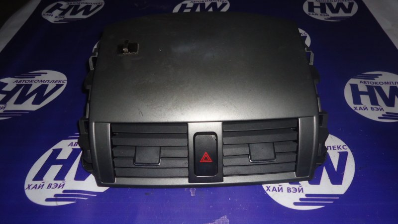 Консоль печки Toyota Corolla Axio ZRE142 2ZRFE (б/у)
