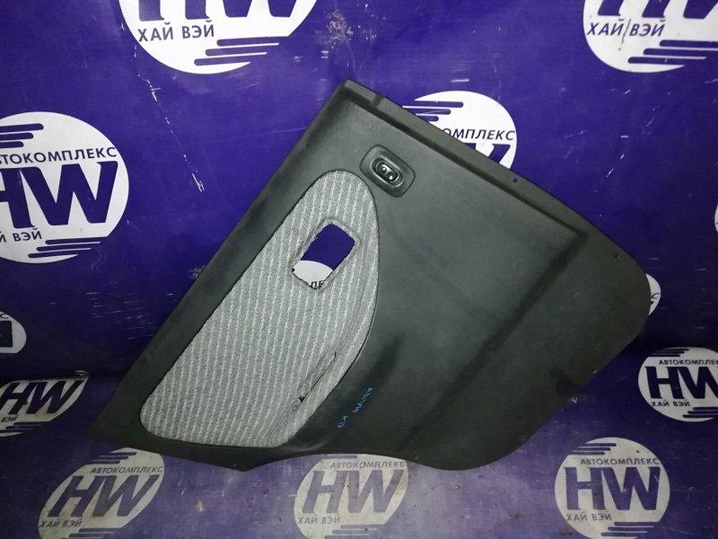 Обшивка двери Nissan Wingroad WFY10 GA15DE задняя левая (б/у)