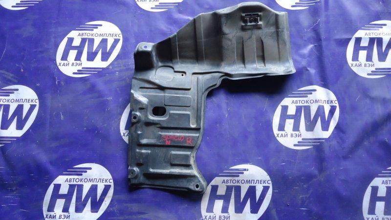 Защита двигателя Toyota Corolla Spacio AE111 4A правая (б/у)