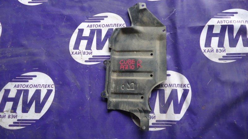 Защита двигателя Nissan Cube AZ10 CGA3 правая (б/у)