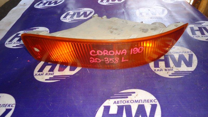 Повторитель в бампер Toyota Corona ST190 3S левый (б/у)