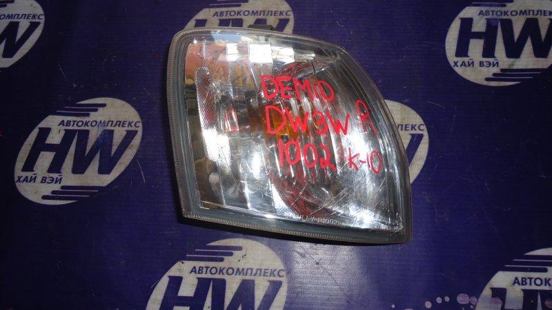Габарит Mazda Demio DW3W B3 правый (б/у)