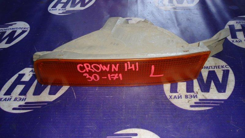 Повторитель в бампер Toyota Crown GS141 1G левый (б/у)