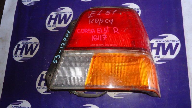 Стоп Toyota Corsa EL51 5E правый (б/у)