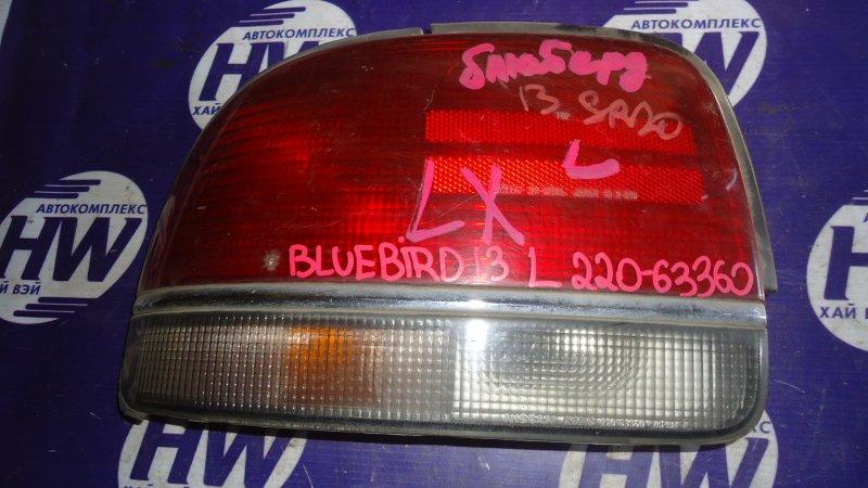 Стоп Nissan Bluebird EU13 SR20 левый (б/у)