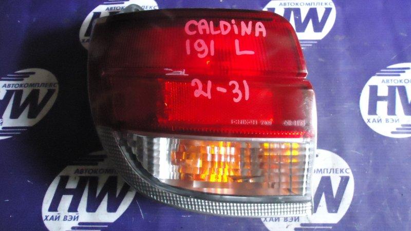 Стоп Toyota Caldina ST191 3S 1997 левый (б/у)