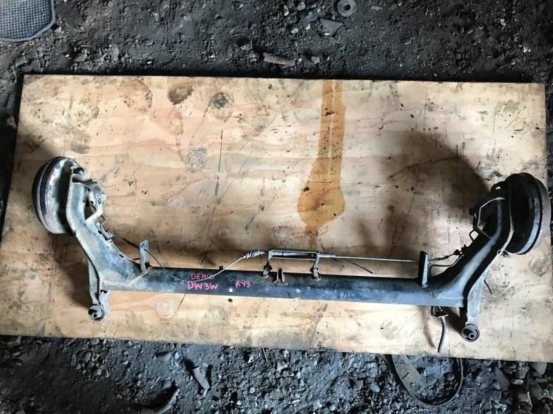 Балка со ступицами Mazda Demio DW3W B3 (б/у)