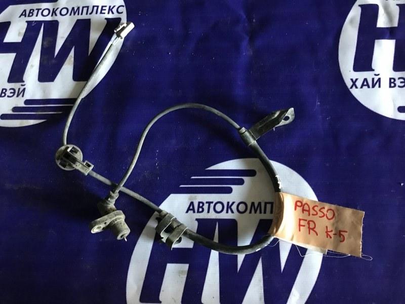 Датчик abs Toyota Passo KGC10 2003 передний правый (б/у)