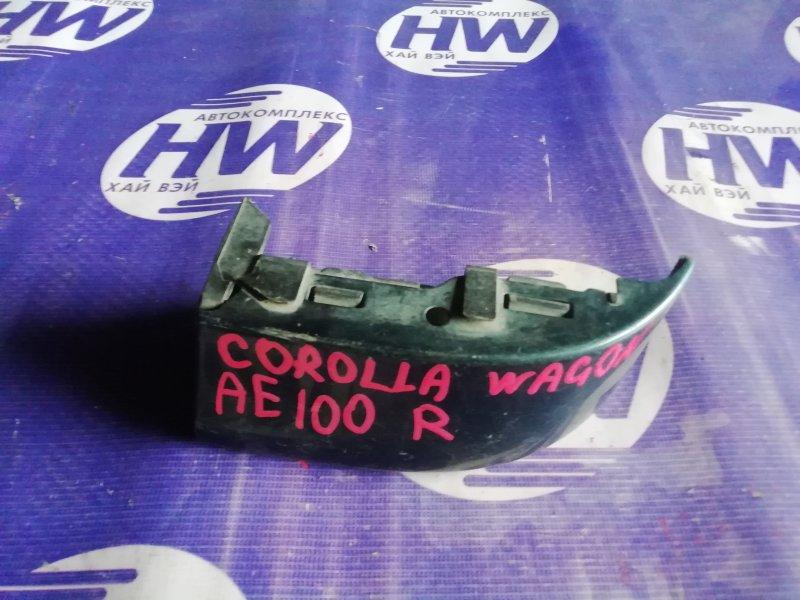 Планка под стоп Toyota Corolla EE103 1996 правая (б/у)