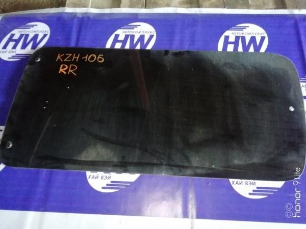 Стекло Toyota Hiace KZH106 1KZ 1996 заднее правое (б/у)