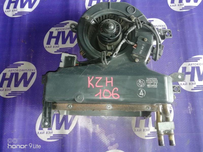 Печка Toyota Hiace KZH106 1KZ 1996 задняя (б/у)