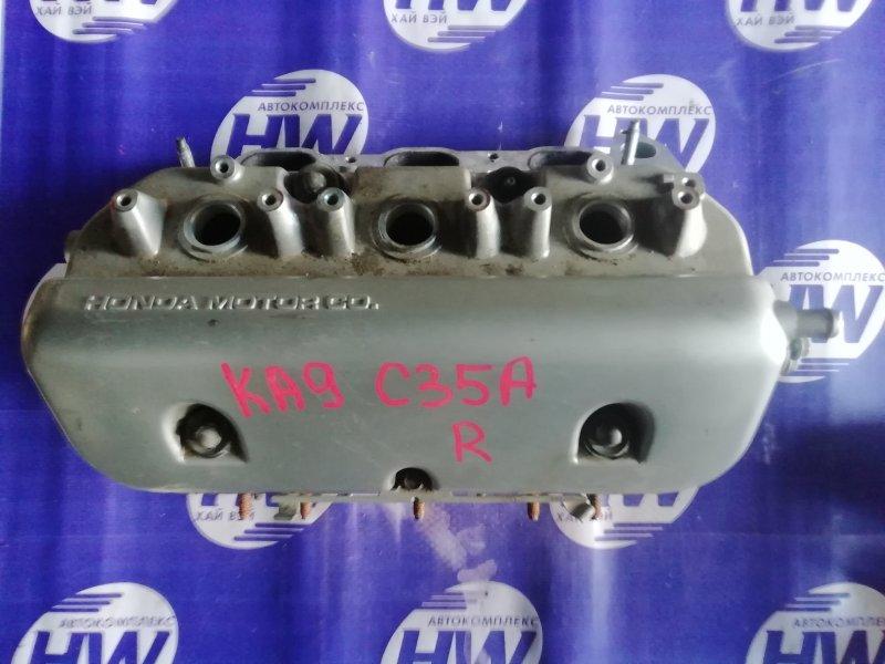 Головка блока цилиндров Honda Legend KA9 C35A 1999 правая (б/у)