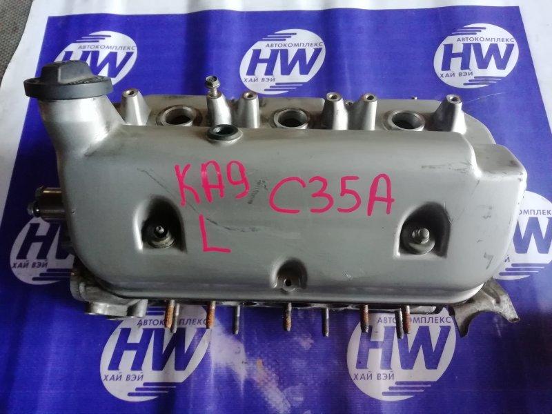 Головка блока цилиндров Honda Legend KA9 C35A 1999 левая (б/у)