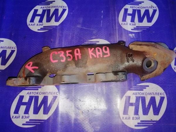 Коллектор выпускной Honda Legend KA9 C35A 1999 правый (б/у)