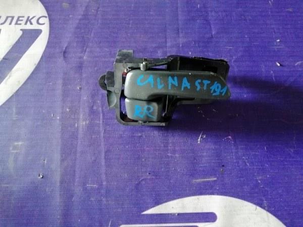 Ручка двери внутренняя Toyota Caldina ST191 3S 1995 задняя правая (б/у)