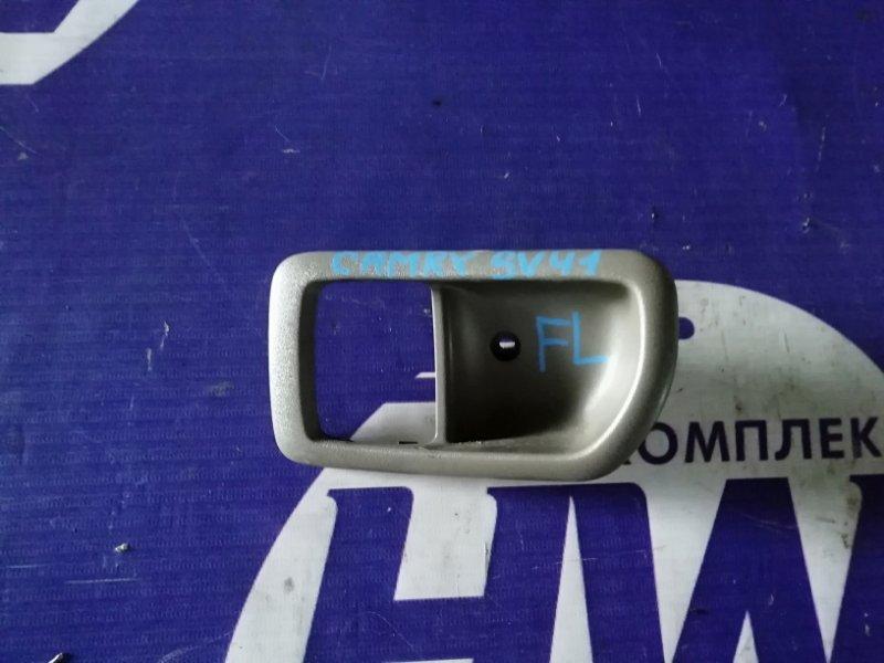 Ручка двери внутренняя Toyota Camry SV41 3S передняя левая (б/у)