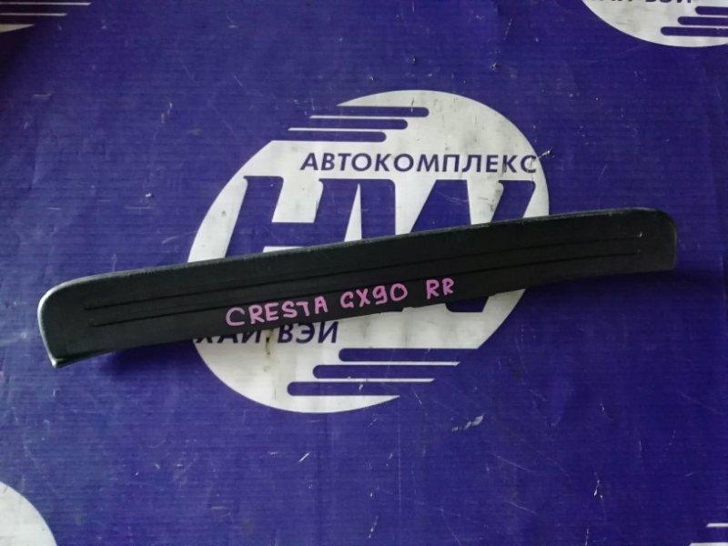 Порожек пластиковый Toyota Cresta GX90 1G 1993 задний правый (б/у)