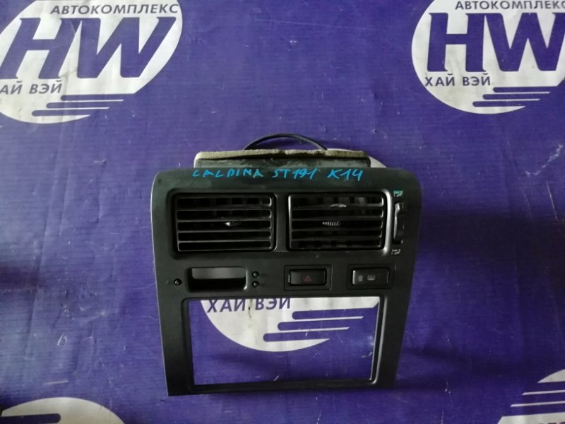 Консоль магнитофона Toyota Caldina ST191 3S 1995 (б/у)