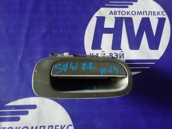 Ручка двери внешняя Toyota Camry SV41 3S задняя правая (б/у)