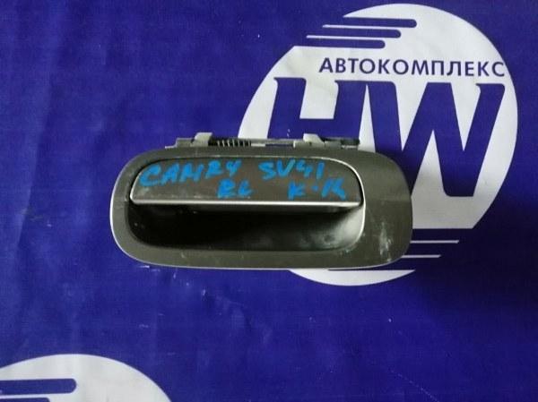 Ручка двери внешняя Toyota Camry SV41 3S задняя левая (б/у)