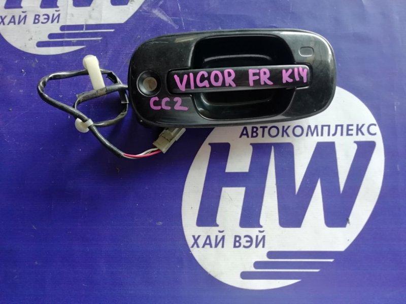 Ручка двери внешняя Honda Vigor CC2 G25A передняя правая (б/у)