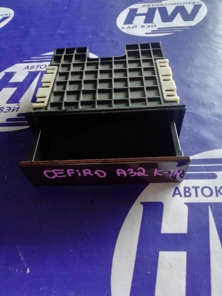 Консоль магнитофона Nissan Cefiro A32 VQ20 (б/у)