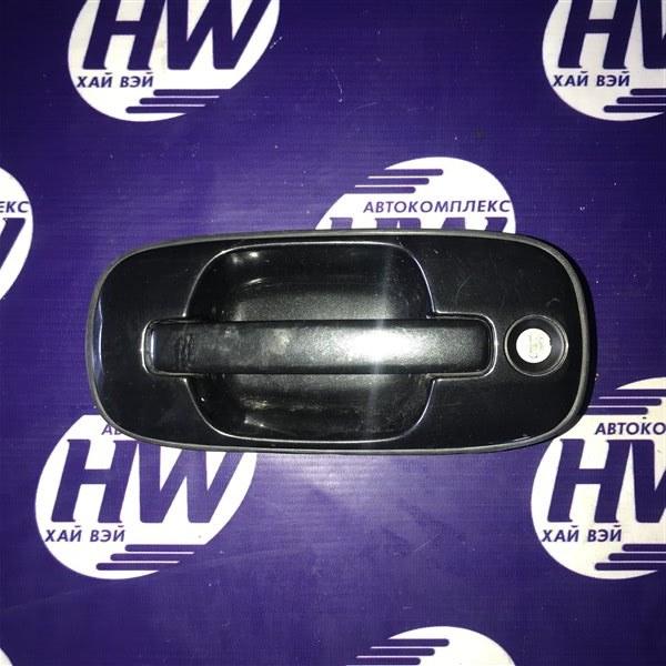 Ручка двери внешняя Honda Vigor CC2 G25A передняя левая (б/у)