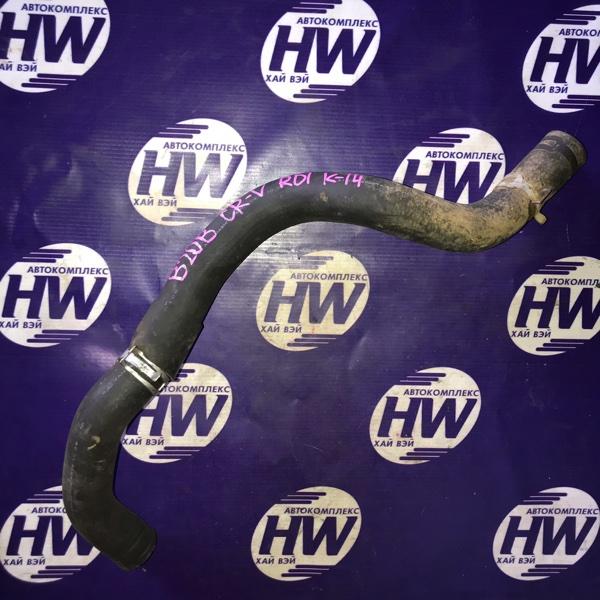 Патрубок радиатора Honda Cr-V RD1 B20B 1997 нижний (б/у)