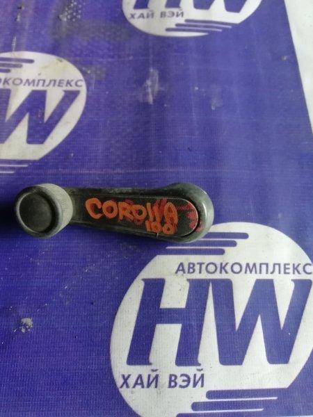 Ручка стеклоподъемника Toyota Corolla AE100 5A 1993 передняя правая (б/у)