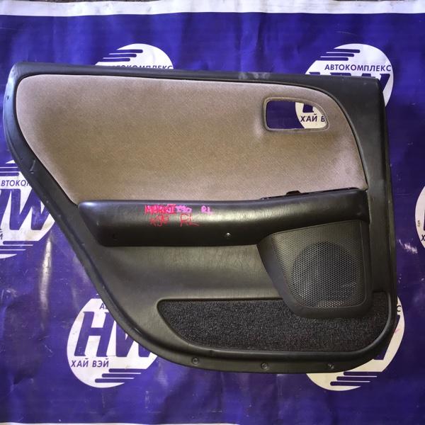 Обшивка двери Toyota Mark Ii GX90 1G задняя левая (б/у)