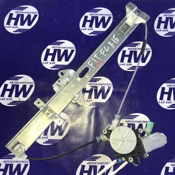 Стеклоподъемник Honda Fit GD1 L13A 2001 передний левый (б/у)