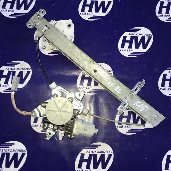 Стеклоподъемник Honda Fit GD1 L13A 2001 задний левый (б/у)