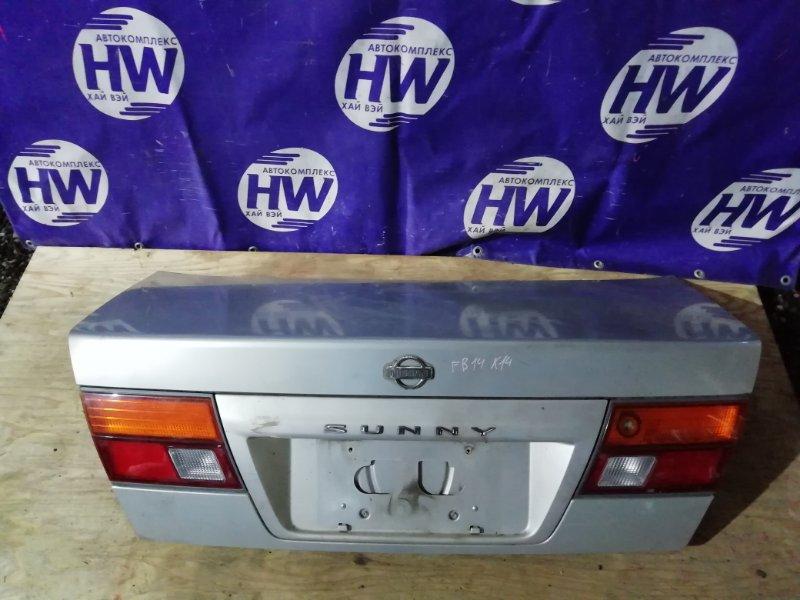 Крышка багажника Nissan Sunny FB14 GA15DE (б/у)