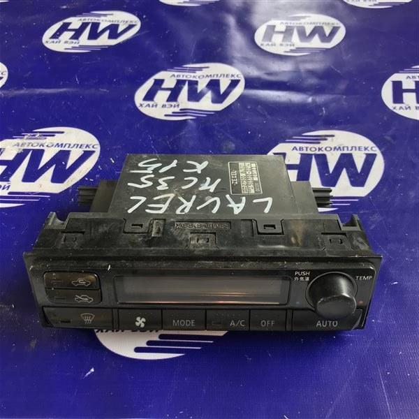 Климат-контроль Nissan Laurel HC35 RB20DE 2001 (б/у)