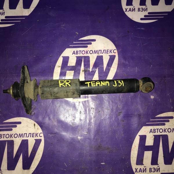 Амортизатор Nissan Teana J31 VQ23 задний (б/у)