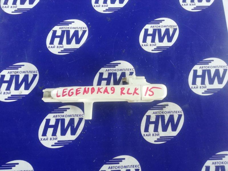 Ручка двери внешняя Honda Legend KA9 C35A 2000 задняя левая (б/у)