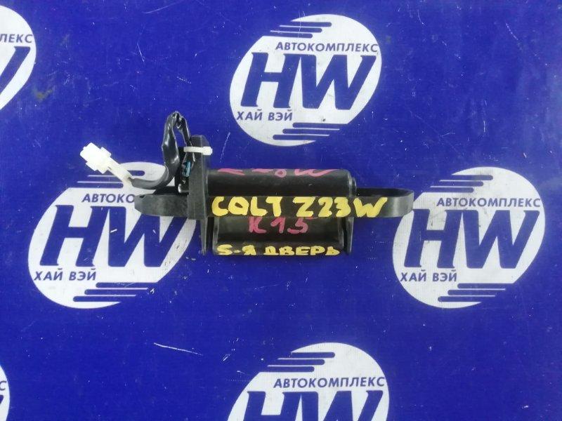 Ручка задней двери Mitsubishi Colt Plus Z23W 4A91 (б/у)
