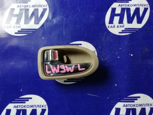 Ручка двери внутренняя Mazda Mpv LW3W L3 передняя левая (б/у)