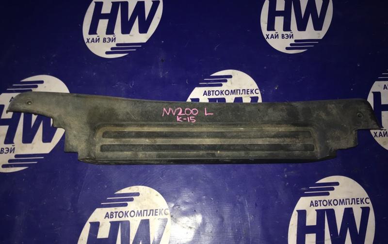 Порожек пластиковый Nissan Nv200 VM20 HR16 задний левый (б/у)